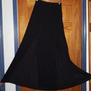 Forever 21 Long Maxi Skirt with Side Slits
